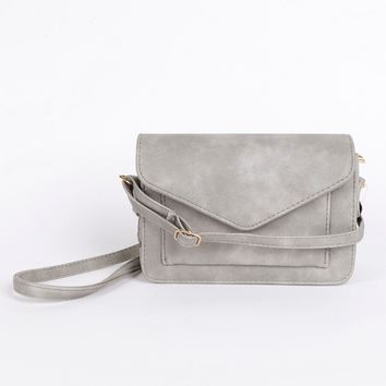 Signed & Sealed Shoulder Bag Stone
