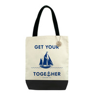 Get Your Ship Together Canvas Tote