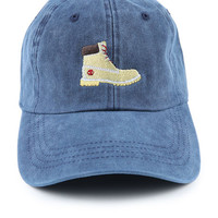 The Tims Dad Hat in Navy Mineral