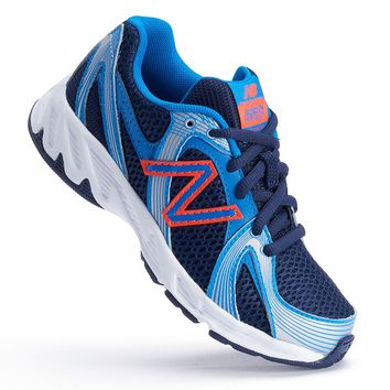 New Balance 550 Boys' Running Shoes (Blue)