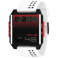 Vestal Digichord Watch White Combo One Size For Men 24677616701