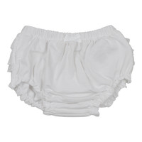 Mayoral Baby Girls' White Knickers with Frills