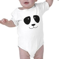 Panda Bodysuits from Zazzle.com