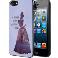 Cinderella Dream Quote Disney Samsung Galaxy S3 S4 S5 Note 3 , iPhone 4 5 5c 6 Plus , iPod 4 5 case