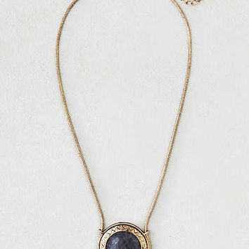 AEO Moonstone Pendant Necklace, Gold