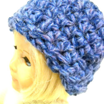 American Girl Hats, 2 Doll Hats, Crocheted AG Hats, Dolls Hats