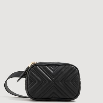 Quilted bum bag - Woman | MANGO Canada