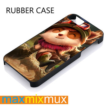 Teemo iPhone 4/4S, 5/5S, 5C, 6/6 Plus Series Rubber Case