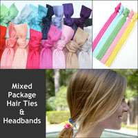 Wholesale Hair Ties & HEADBANDS - Bulk Hair Accessories - Wholesale Hair Bands for Boutiques - Wholesale Emi Jay Like Hair Ties, Headbands