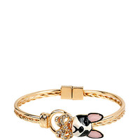 SUGAR CRITTERS BOW AND DOG MAGNET BRACELET: Betsey Johnson