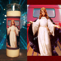 Saint Lana Del Rey Prayer Candle