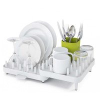 Adjustable Bowls And Dishes Rack Plastic Double-layered Bowl Rack [6284141190]
