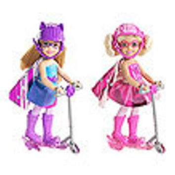 Barbie in Princess Power Scooter Doll Case