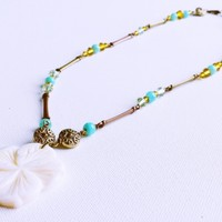 Hawaiian Flower Necklace