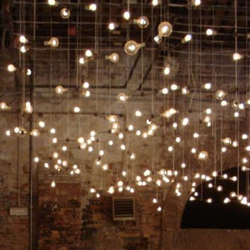 Simple Decorating For Your End-Of-Summer Party: String Lights - Free People Blog