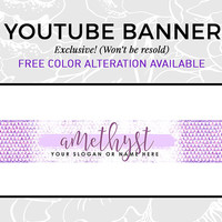 Youtube Banner Design | Vlog Cover | Vlog Design | Beauty Vlog | Fashion Vlog Cover | Youtube Cover Design | Glam Purple Design | AMETHYST