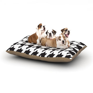 """Empire Ruhl """"Spacey Houndstooth"""" Dog Bed"""