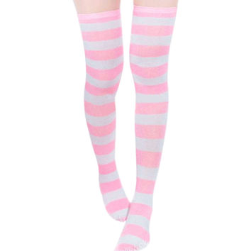 Ladies  Sexy Thigh High Over The Knee Socks