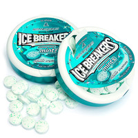 Ice Breakers Wintergreen Sugar Free Mints Packs: 8-Piece Box