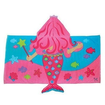Hooded Towel For Kids - Mermaid (Pack of 1)