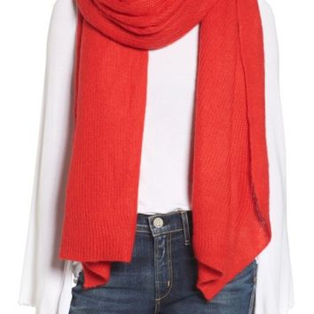 Free People Kennedy Waffle Knit Scarf | Nordstrom