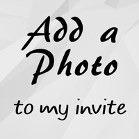 Add a Photo to any invite in my store add-on
