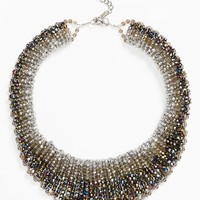 Women's Nakamol Design 'Graduated' Crystal Collar Necklace