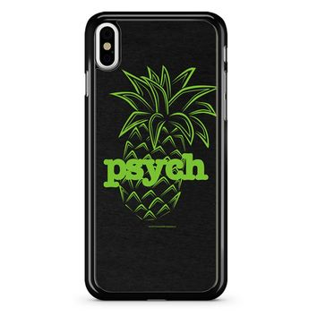 Psych Pineapple iPhone X Case