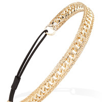 Polished Chain Headband
