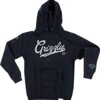 Grizzly Stadium Script Hd/Swt Xxl-Navy/Grey