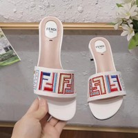 Fendi Women Casual Shoes Boots fashionable casual leather Women Heels Sandal Shoes created