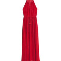 Sleeveless maxi dress - from H&M