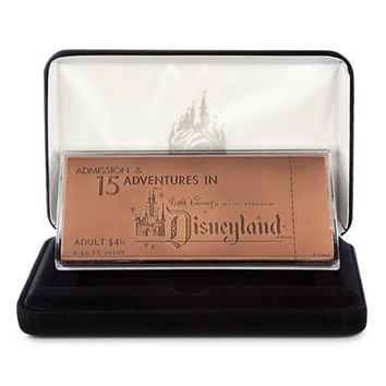 Disneyland Replica Solid Copper E Ticket - Limited Edition