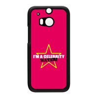 Celebrity Hater Hard Plastic Case for HTC One M8 by Chargrilled