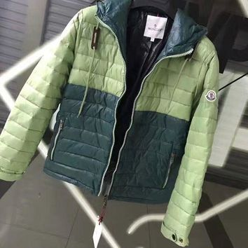 Moncler winter thick cotton clothing / green DCCK