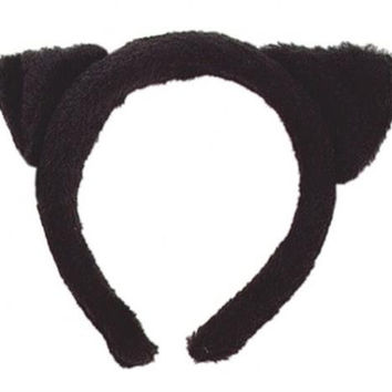 FUZZY CAT EAR HEADBANDS