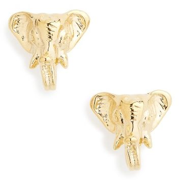 Tory Burch Elephant Stud Earrings | Nordstrom