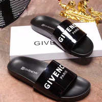wanelu: GIVENCHY PARIS andals Comfortable Loose Slippers
