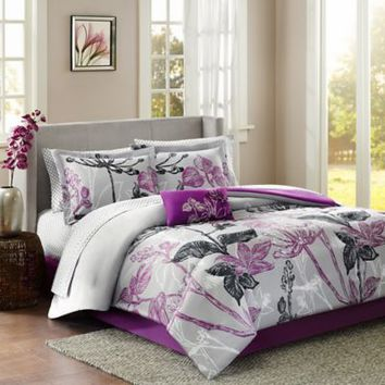 Madison Park Claremont Comforter Set