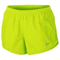 "Nike Dri-FIT 3"" Modern Embossed Tempo Shorts - Women's at Lady Foot Locker"