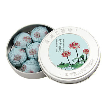 Lotus Leaf Puer Tea Small Mini 100g