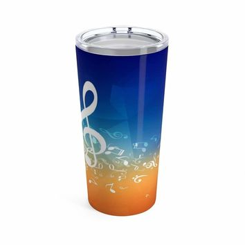Music Note Coffee Mug -Tumbler 20oz
