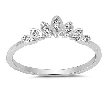 1.1TCW Marquise Cut Russian Lab Diamond Wedding Band Promise Ring