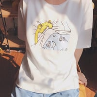 SLEEPY SAILOR MOON TEE
