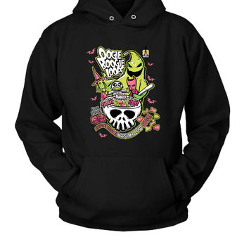 Oogie Boogie Loops Nightmare Before Christmas Hoodie Two Sided