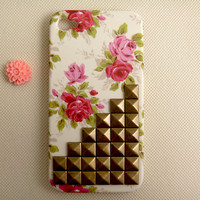 Studded Floral IPhone 4 Case, Flora.. on Luulla