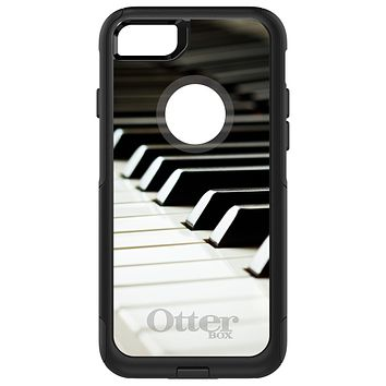 DistinctInk™ OtterBox Commuter Series Case for Apple iPhone or Samsung Galaxy - Piano Keys Keyboard