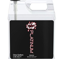 Wet Platinum Premium Silicone Based Personal Lubricant - One Gallon