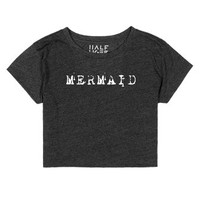 Mermaid-Female Heather Onyx T-Shirt