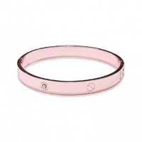 Cartier Inspired Bangle stackable Rose Gold Plate Metal CUFF BRACELET